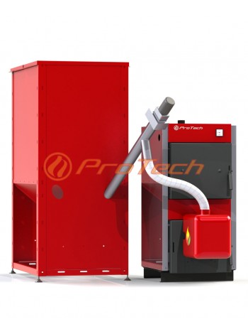 Купить котел пеллетный ProTech™ Eco Line: ТТ - 26с (пеллетный комплект)