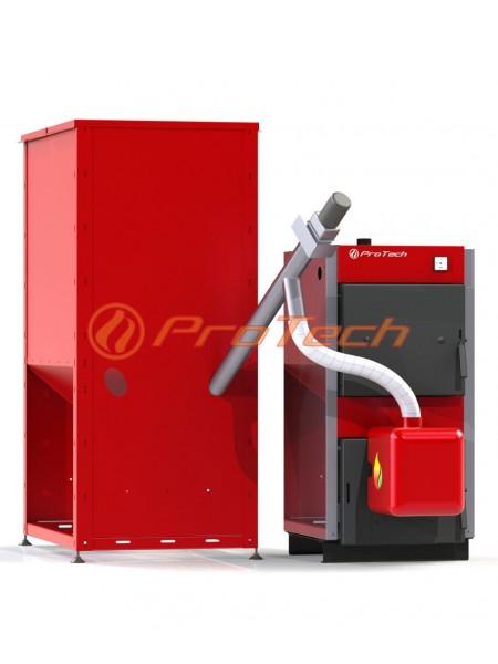 Универсальный твердотопливный пеллетный котел ProTech™ Eco Line: ТТ - 30с (пеллетный комплект)