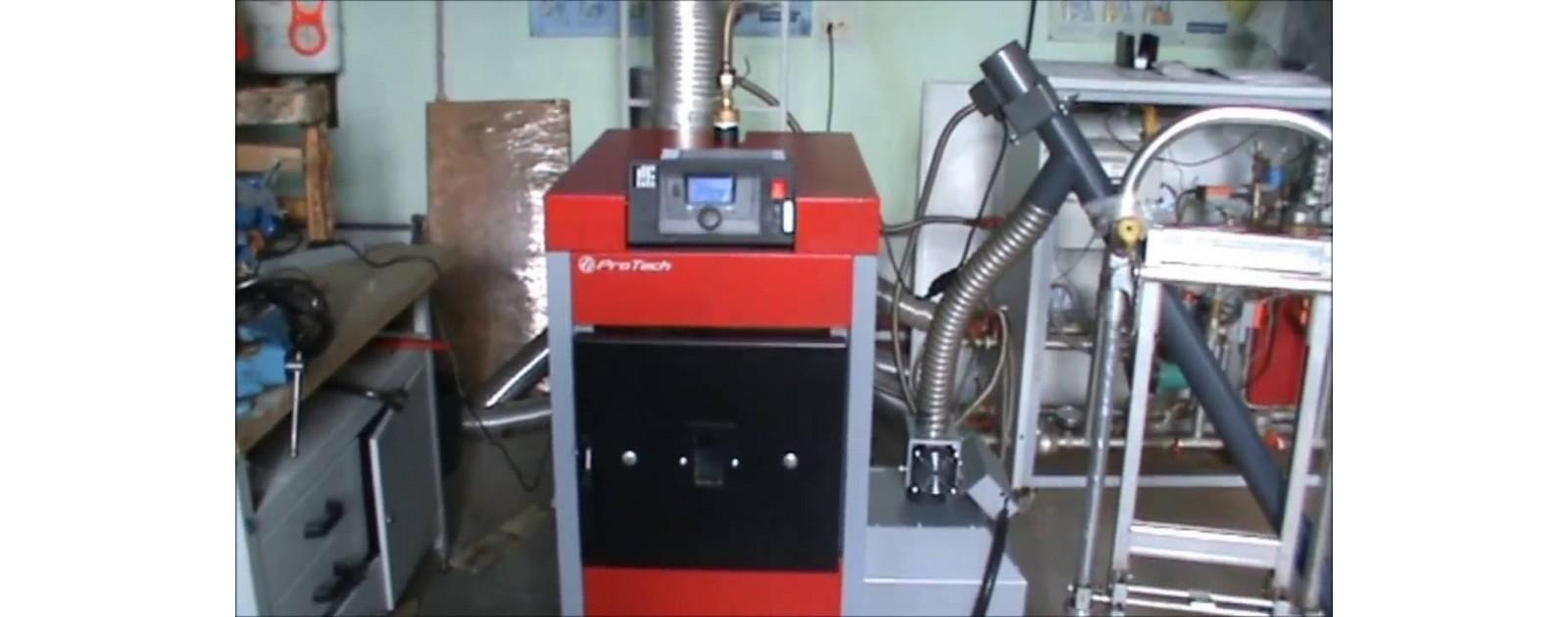 Испытание котла ProTech, ECO Line, 30 кВт