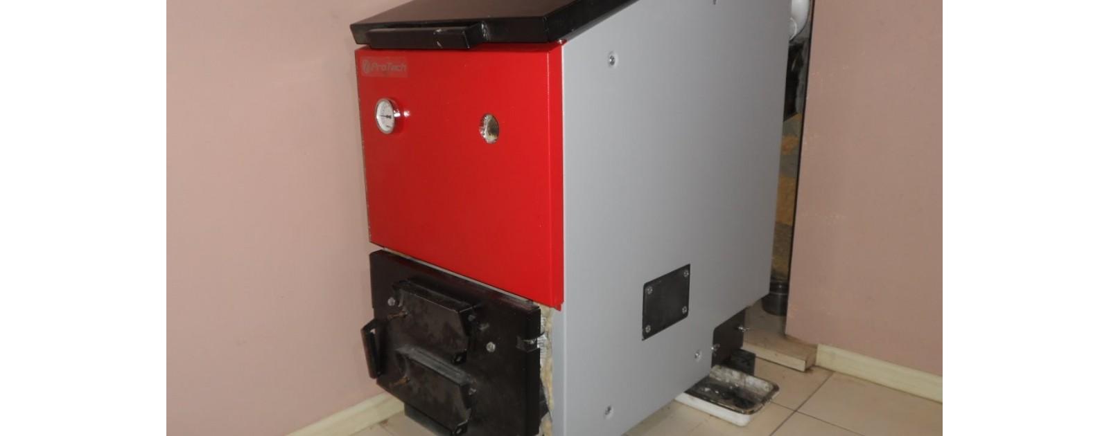Лабораторные испытания котла длительного горения ЕСО Long 30 кВт